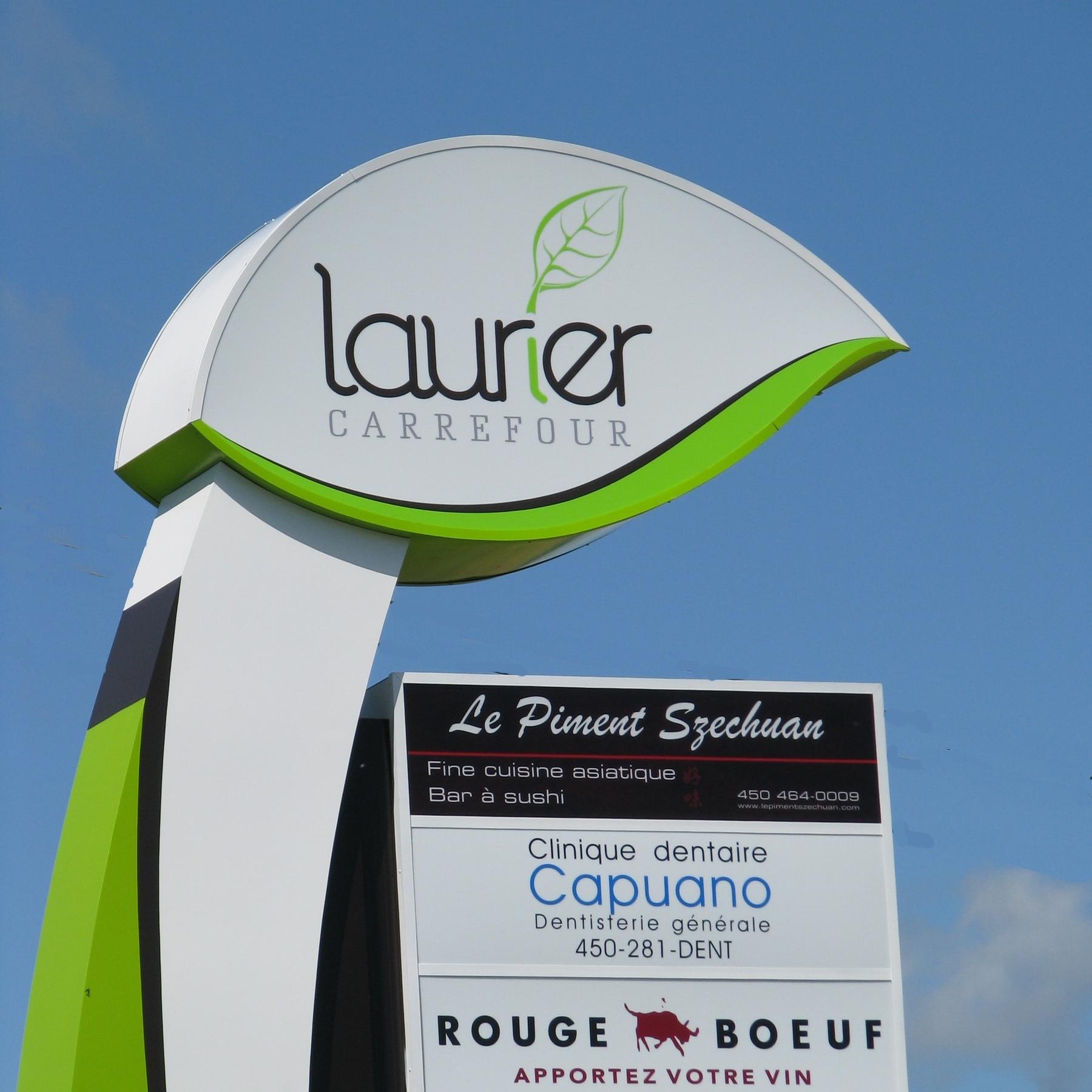Laurier Carrefour enseigne