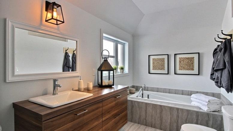 Salle de bain maison de ville