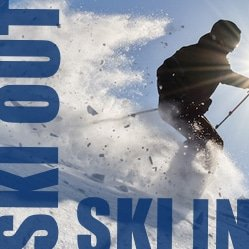 Condo ski in et ski out